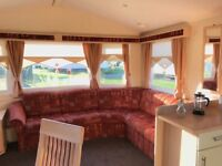 Quality Pre Owned Caravan At Sandylands On The West coast Of Scotlands With Fees Inc till 2019