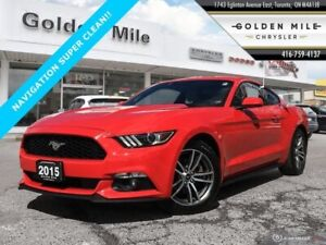2015 Ford Mustang NAVI LEATHER!
