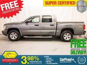 2011 Dodge Dakota Crew cab sxt 4X4 *Warranty*