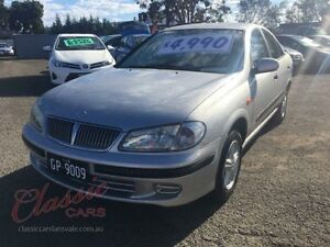 2003 Nissan Pulsar N16 ST Silver 4 Speed Automatic Sedan Lansvale Liverpool Area Preview