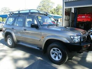 2004 Nissan Patrol Y61 STL Bronze 5 Speed Manual Wagon Bray Park Pine Rivers Area Preview