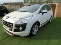 2011 Peugeot 3008 2.0 HDi FAP Exclusive 5dr LOW MILEAGE .PAN ROOF. F