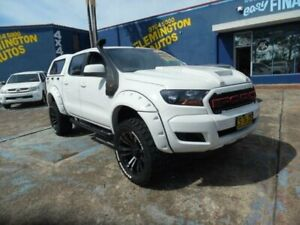 2015 Ford Ranger PX MkII XL 3.2 (4x4) White 6 Speed Automatic Crew Cab Utility Homebush West Strathfield Area Preview