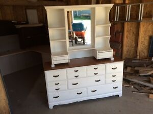 "buffet antique 59""x18""x31""ht"
