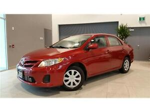 2011 Toyota Corolla CE **ONLY 80000KMS!!!**