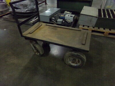 Hd Utility Cart - Metal Frame With Rubber Tires 48 X 24