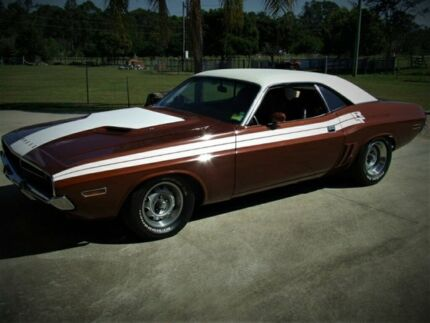 1971 Dodge Challenger RT CLONE Bronze Automatic Hardtop Capalaba Brisbane South East Preview