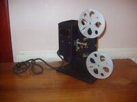 Eastman Kodak standard 8mm cine projector in case