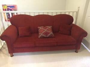 2 seater sofa and 3 seater sofa matched pair excellent condition Sandringham Bayside Area Preview