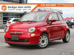 2012 Fiat 500 POP - Rosso Red paint and interior - 1.4L