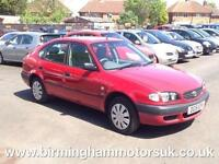2001 (51 Reg) Toyota Corolla 1.6 VVTI S AUTOMATIC 5DR Hatchback RED + LOW MILES