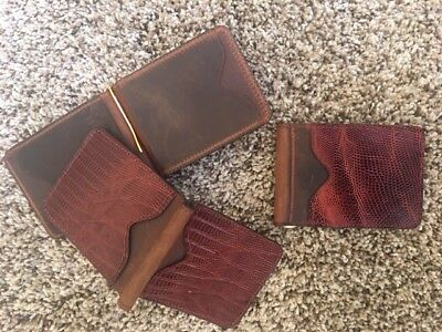 Mens Genuine Teju Lizard Wallet