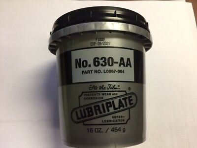 L0067 004 Lubriplate 630 Aa Lithium Grease 16 Ounce Container