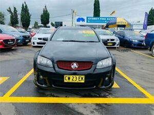 2011 Holden Ute VE II SS Black 6 Speed Sports Automatic Utility Minchinbury Blacktown Area Preview