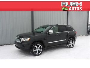 2011 Jeep Grand Cherokee Overland V8 ** Leather, Navigation**