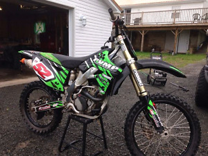 2012 Kx250f for sale. Lots of aftermarket/spare parts