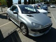 2002 Peugeot 206 CC Silver 5 Speed 5 SP MANUAL Cabriolet Wangara Wanneroo Area Preview