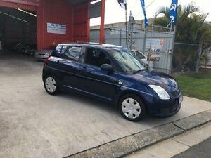 2008 Suzuki Swift RS415 Blue 5 Speed Manual Hatchback Clontarf Redcliffe Area Preview