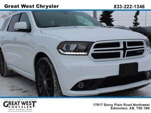 2017 Dodge Durango NAPPA LEATHER**FRONT AND REAR FRONT SEATS**BA