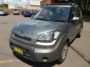 2011 Kia Soul AM MY11 Silver 5 Speed Manual Hatchback Georgetown Newcastle Area Preview