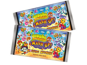 Collector Binder 134 MOSHI MONSTERS MASH UP Series 4 Moshling Madness Cards Code
