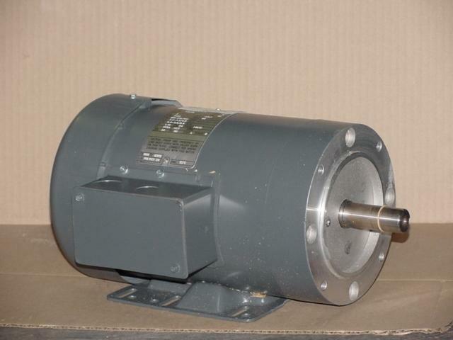 GE 5KE48TN8396A/K2028 2HP MOTOR 208-230/460 VOLT 3490 RPM 934 SINGLE SHAFT