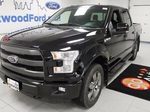 2016 Ford F-150 ALL BLACK EVERYTHING!!! LEATHER ROOF AND NAV!!!