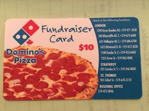 DOMINOS PIZZA COUPON CARD