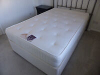 4ft Double Bed 2 draws Good quality