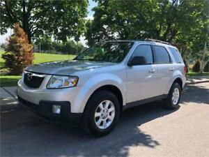 2010 MAZDA TRIBUTE GT, AUTOMATIQUE, 4X4, CUIR, TOIT, MAGS,CAMÈRA