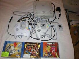 £££ cash paid - I am looking for a SEGA DREAMCAST collection. Games, console, and accessories.