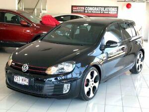 2012 Volkswagen Golf VI MY13 GTI DSG Black 6 Speed Sports Automatic Dual Clutch Hatchback
