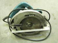 Makita Circular Saw 5007FA Wi Carbide tip Blade