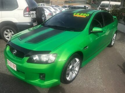 2008 Holden Commodore VE MY09 SV6 Green 5 Speed Sports Automatic Sedan Winnellie Darwin City Preview