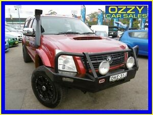 2007 Holden Rodeo RA MY06 Upgrade LT (4x4) Burgundy 5 Speed Manual Crew Cab P/Up Penrith Penrith Area Preview