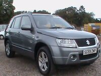 SUZUKI GRAND VITARA 1.9 DDIS 5 DOOR GREY EXCELLANT CONDITION MUST BE SEEN CAMBELTS REPLACED