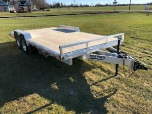 "2019 MILLROAD 100"" X 18' WIDE BODY TRAILER"