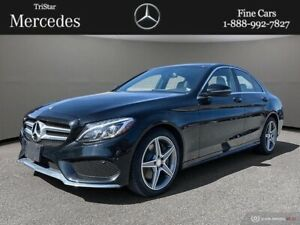 2016 Mercedes Benz C-Class 4MATIC Sedan CERTIFIED