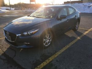 Mazda 3 2018 Transfer de Location 3000$ Incitatif