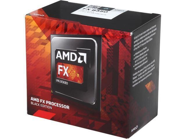 AMD FX-8350 4.0GHz Processor Black FD8350FRHKBOX
