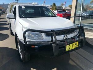 2015 Holden Colorado RG MY16 LS Space Cab White 6 Speed Sports Automatic Cab Chassis West Tamworth Tamworth City Preview