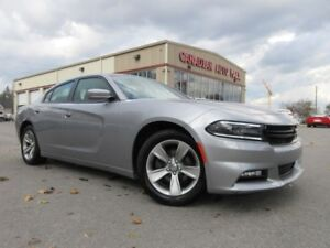 2016 Dodge Charger SXT, NAV, ROOF, HTD. SEATS, BT, 24K!