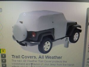 Bestop All Weather Trail Cover for Jeep