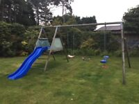 Child's Swing and Slide