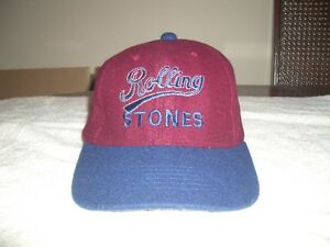 Rolling Stones Fitted Baseball Cap