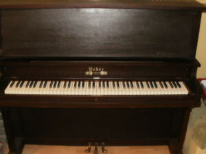 GREAT WEBER PIANO