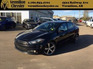 2014 Dodge Dart GT, Leather, Sunroof, NAV, Blind Spot