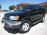 2000 Toyota 4Runner SR5 Low Kms Great For Winter