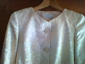 Marks and Spencer gold jacket, AS NEW - size 8 - see ad for measurements