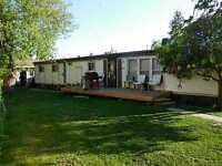 lot with modular ,24x24 garage